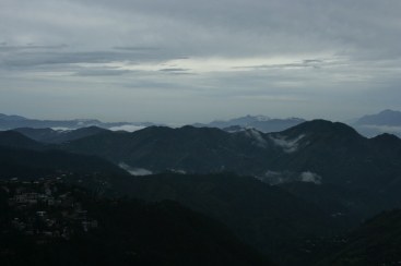 Shimla and the Sky