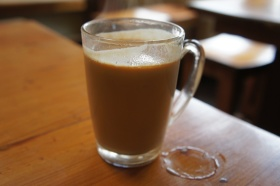 Chai at Wake & Bake Cafe, Simla, India