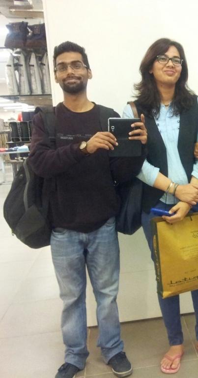 Me and my little sister Shikha