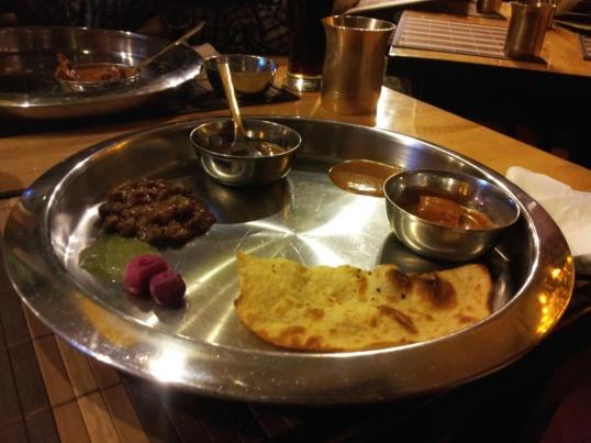 Punjabi Dinner. Balle Balle. Shava Shava.