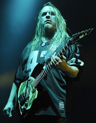 Jeff Hanneman, Guitar Player and Song Writer, Slayer