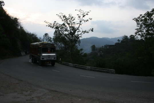 On our way to Kasauli
